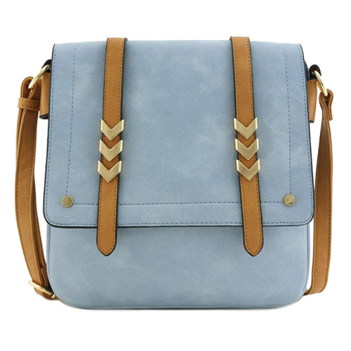 Alyssa Flapover Crossbody Bag