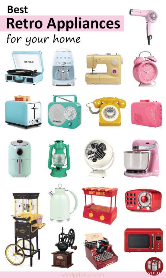 Best Retro Home Appliances