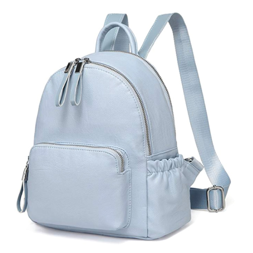 Vaschy Sky Blue Mini Backpack