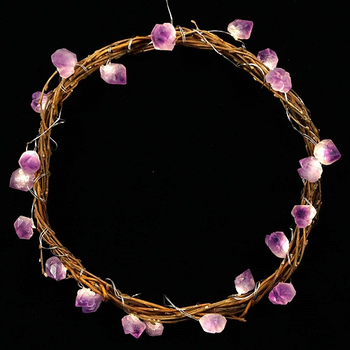 Amethyst LED String Lights