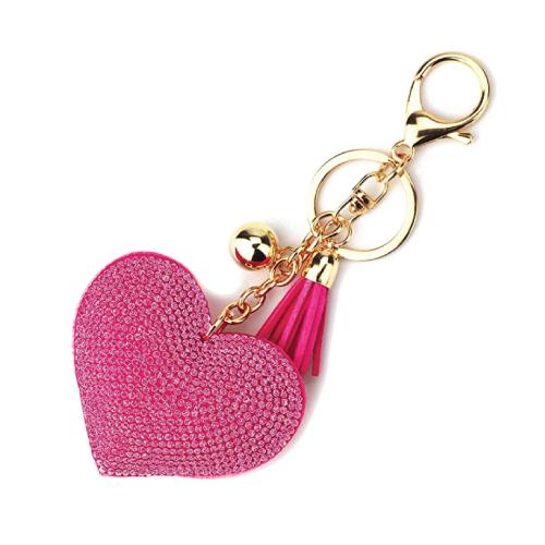 Elesa Miracle Love Heart Tassel Keychain