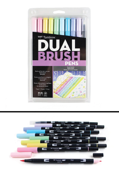 Tombow Dual Brush Pen Art Markers