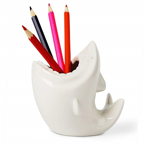 Shark Shaped Pencil Holder