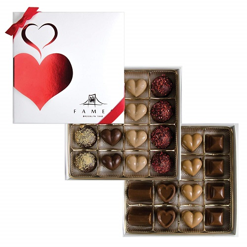 Valentine's Chocolate Box Chocolate Truffles
