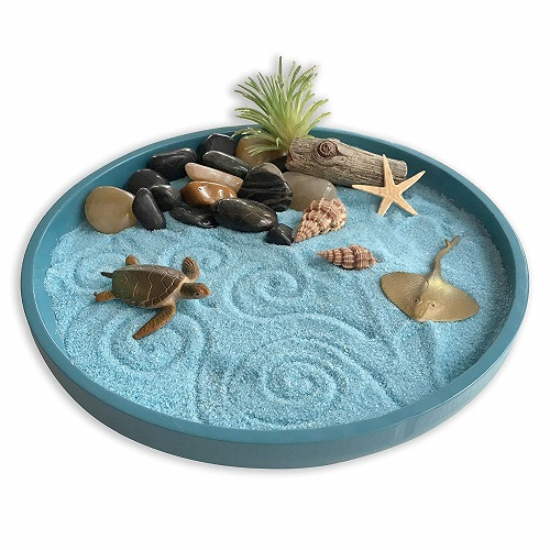 Mini Zen Garden Sea Life