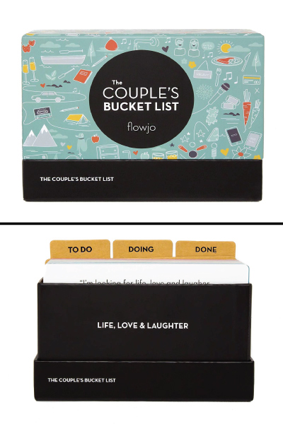 The Couples Bucket List, 100 Date Night Idea Cards