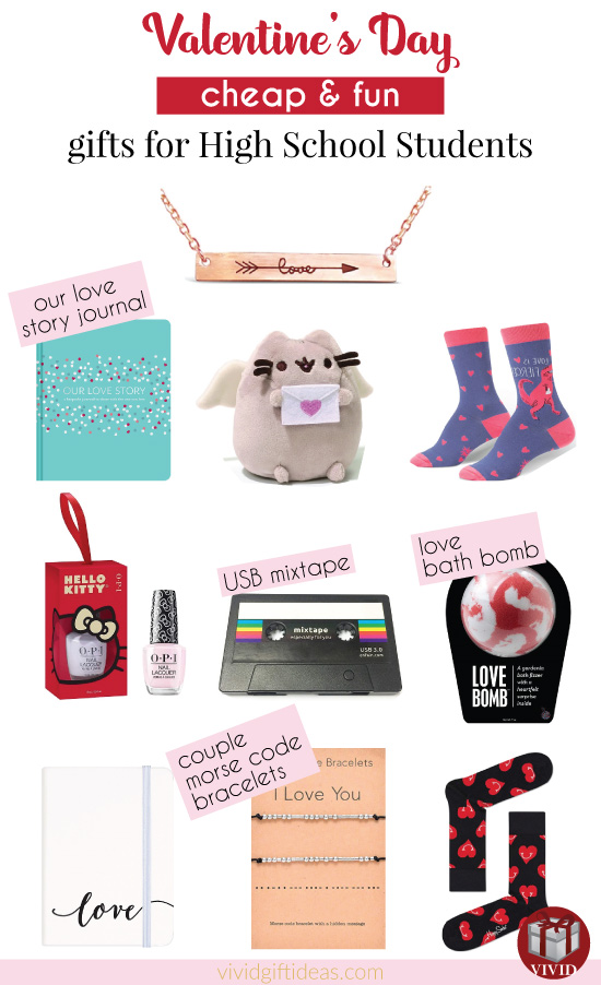 High School Valentines Day gift ideas