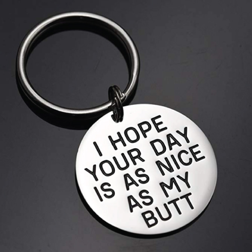 Funny Saying Keychain