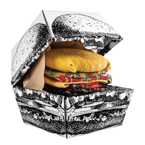 Funky Burger Socks