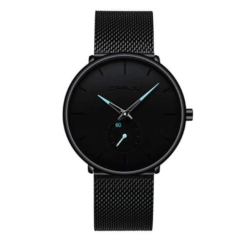 FIZILI Men's Ultra Thin Wrist Watches