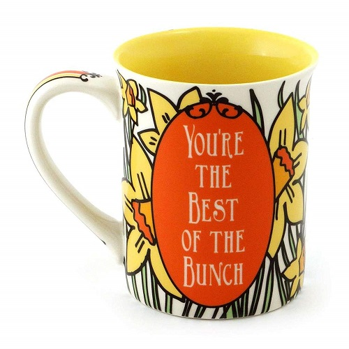 March Birthday Flower Coffee Mug