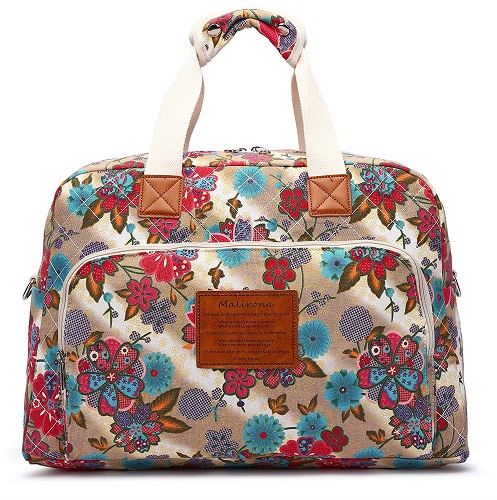 Malirona Canvas Carry On Travel Duffel