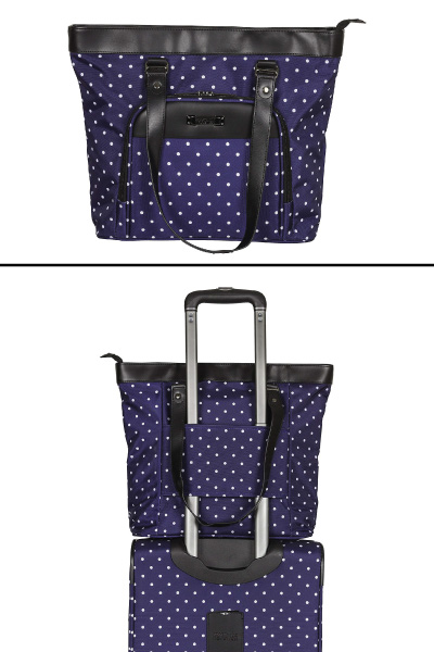 Kenneth Cole Reaction Dot Matrix Travel Tote