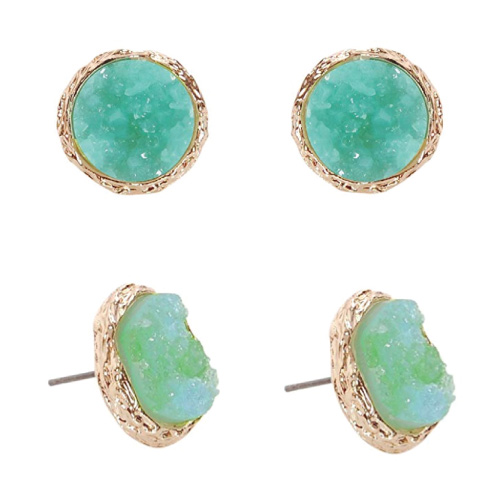 Druzy Studs Earrings