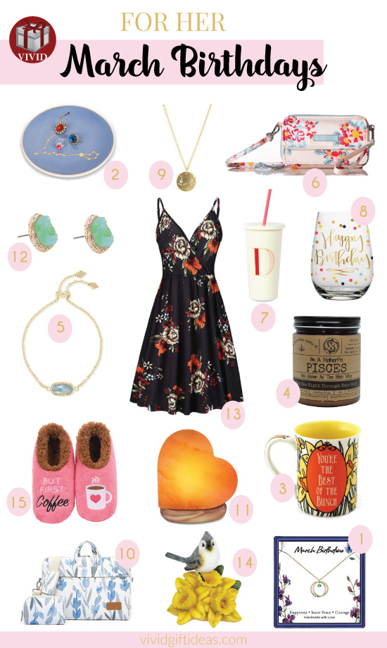 Best Gifts for March Birthdays
