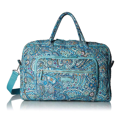 Vera Bradley Signature Cotton Weekender Travel Bag