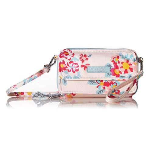 Vera Bradley Lighten Up All in One Crossbody Wristlet