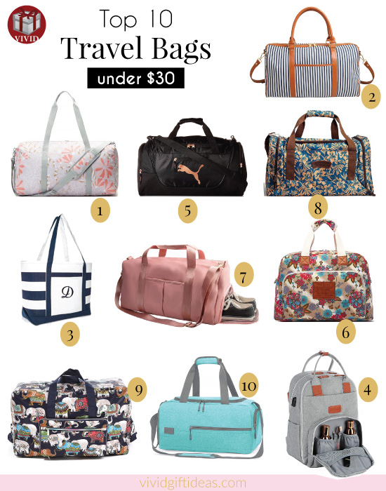 Best Travel Bags under $30