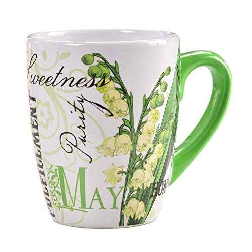 Lily of the Valley Ceramic Mug