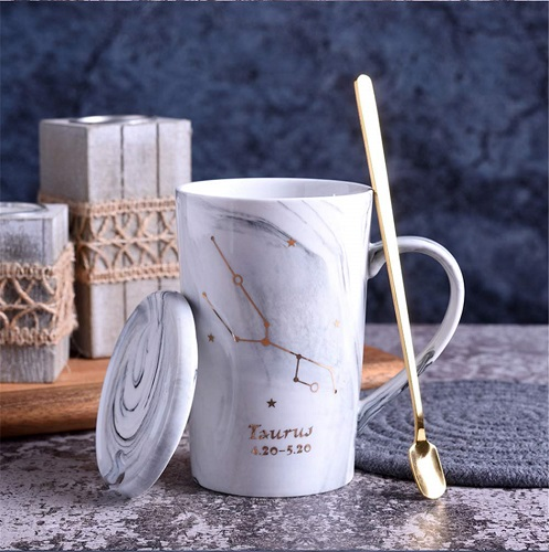 Constellation Marble Coffee Mug