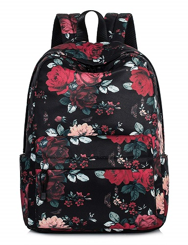 Leaper Vintage Floral School Backpack