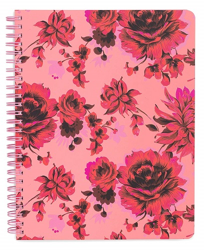 Ban.do Floral Rough Draft Mini Spiral Notebook
