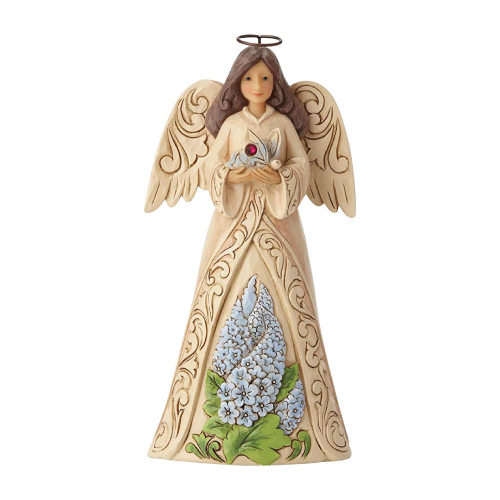 July Angel Figurine