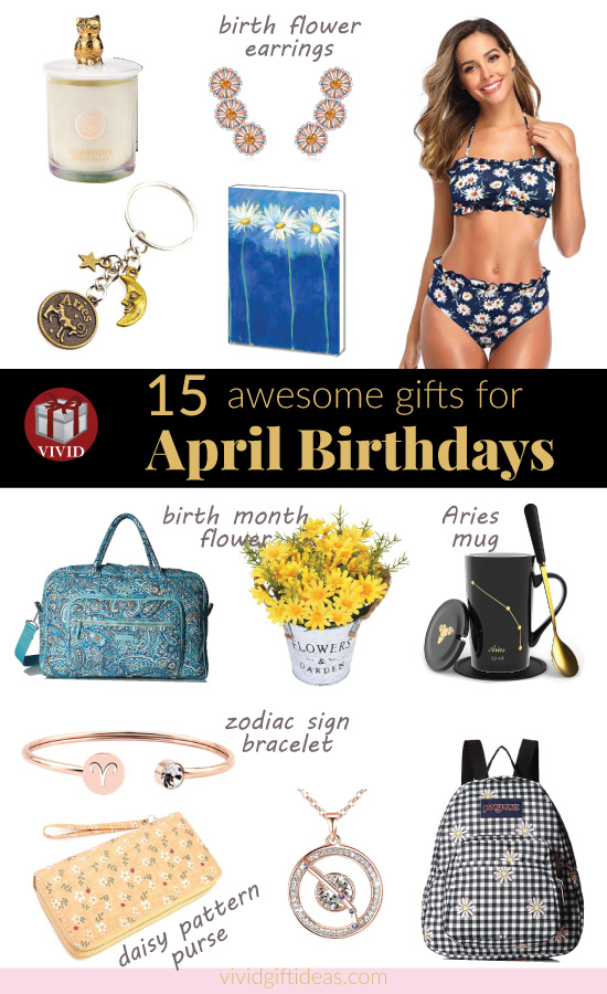 Gifts for April Birthdays