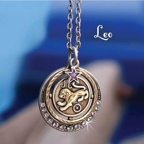 Sweet Romance Leo Astrology Necklace