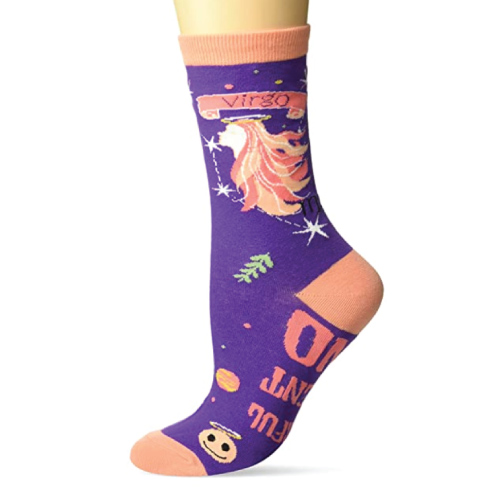 Virgo Sign Crew Socks