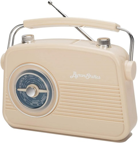 Byron Statics Retro Portable Radio