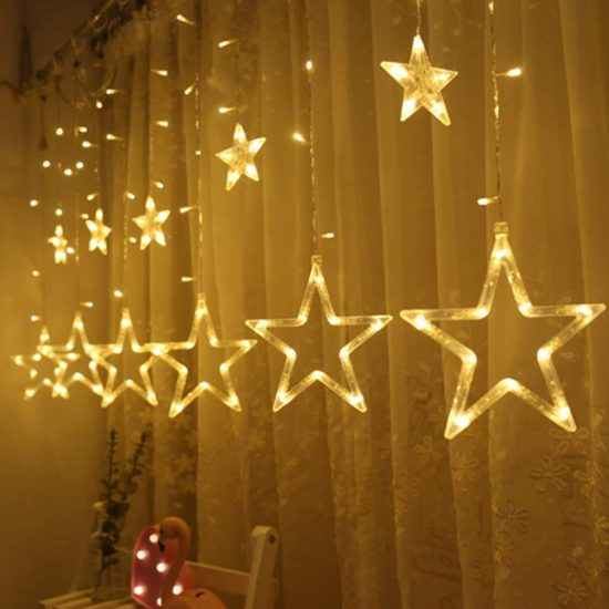 Twinkle Stars LED String Lights