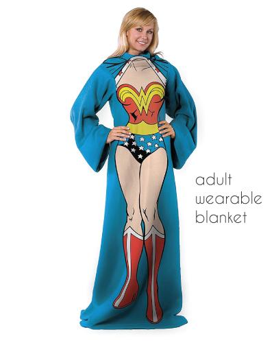 Wonder Woman Adult Wearable Blanket