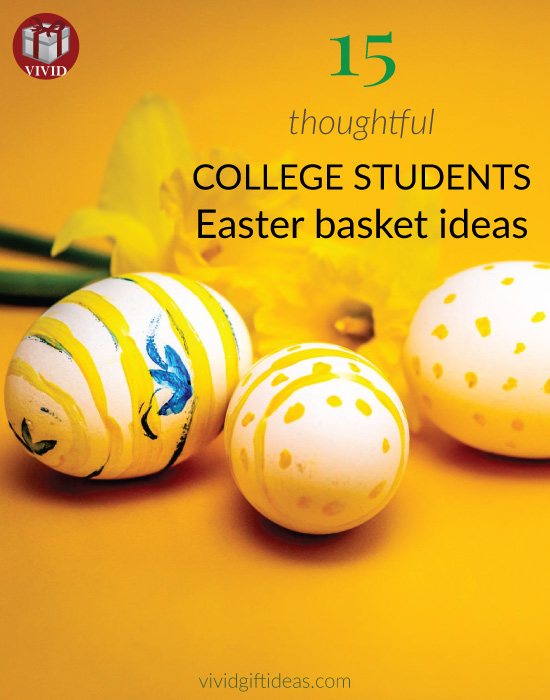 Best Easter Basket Ideas for College Students