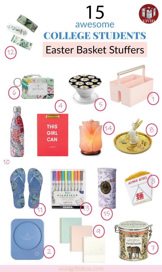 Easter Basket Ideas for College Students