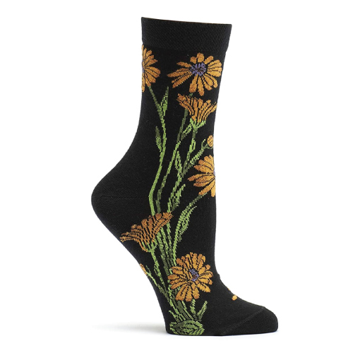 Marigold Flower Socks