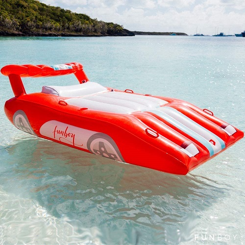 Funboy Sports Car Inflatable Float Raft