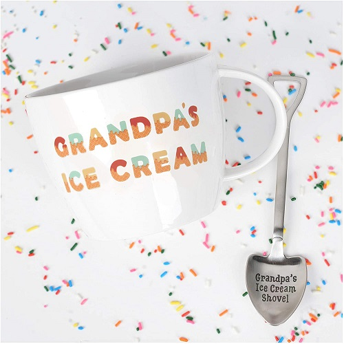 Grandpa's Ice Cream Bowl Set
