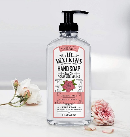 JR Watkins Desert Rose Gel Hand Soap