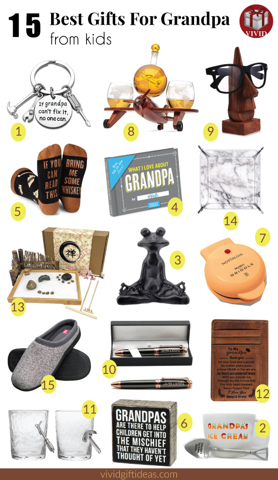 Best Gifts For Grandpa From Kids