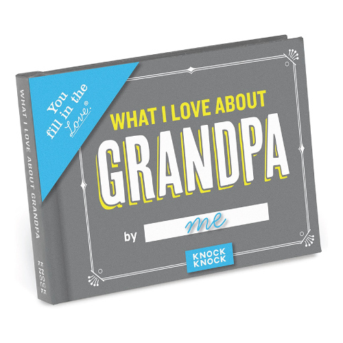 Fill in the Love Book for Grandpa