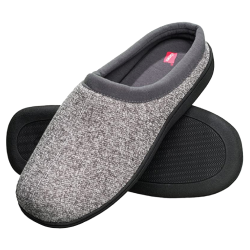 Hanes Men's Memory Foam Clog Slipper