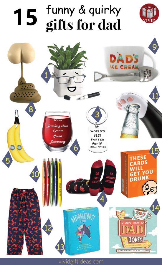 Quirky Gifts For Dad | Funny Fathers Day Gift Ideas