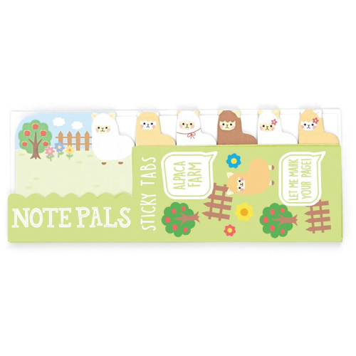 Ooly Note Pals Alpaca Farm Mini Sticky Tabs