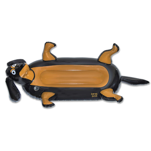 Dachshund Wiener Dog Lounger Pool Float