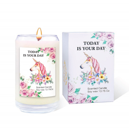 Beautiful Unicorn Scented Candle