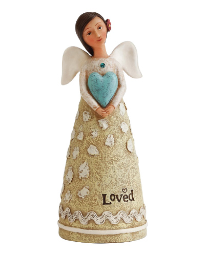 Kelly Rae Roberts December Birthday Angel Figurine