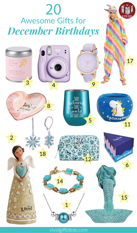 December Birthday Gifts for Her