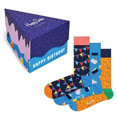 Happy Socks Birthday Cake Socks