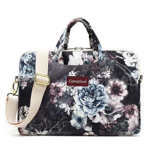 Canvaslove Chrysanthemum Laptop Bag